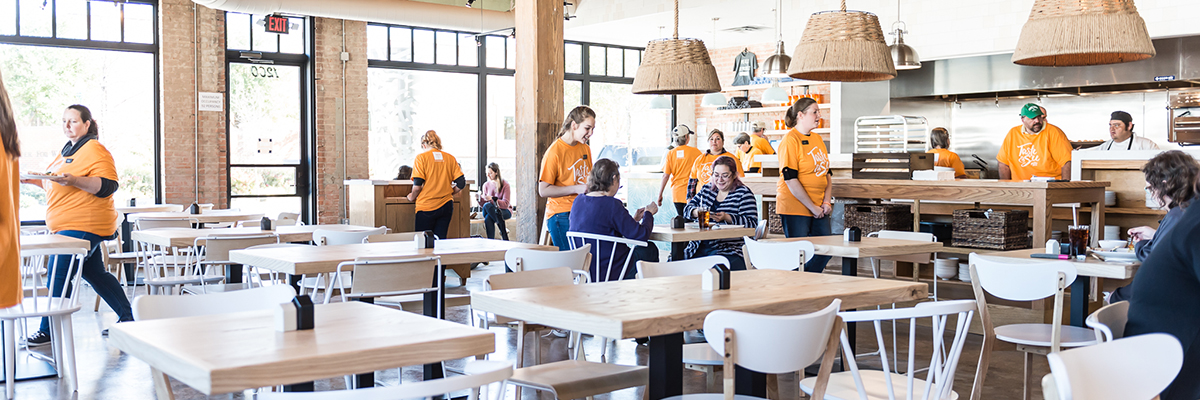 Taste Community Restaurant Welcomes You Home: Opening Day Details - Taste Project